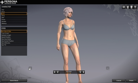 APB Reloaded Chara body