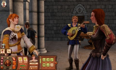 The Sims Medieval top