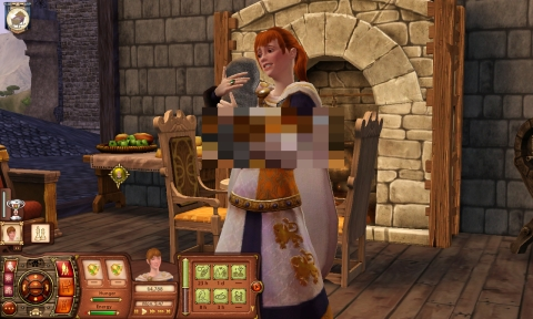 The Sims Medieval v4 Top